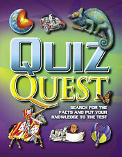 Quiz Quest: Search for the Facts and Put Your Knowledge to the Test (Quiz Book),