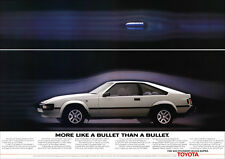 TOYOTA CELICA SUPRA RETRO A3 POSTER PRINT FROM CLASSIC 80's ADVERT