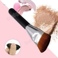 Profesional Plano Contorno Cepillo Rostro Mejillas Mezcla Cosméticos Maquillaje