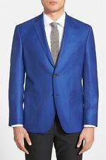 $795 Mens Ted Baker Tom Trim Fit Wool Silk Blazer Sport Coat Jacket Suit 38R SPJ