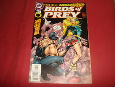 BIRDS OF PREY #26  Oracle  Batman Bane  DC Comics 2001 - NM