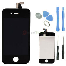 LCD Display Screen Touch Digitizer Assembly OEM for iPhone 4 GSM Black + Tools