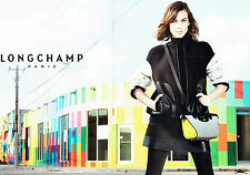 PUBLICITE ADVERTISING 066  2015  Longchamp collection sac (2p)