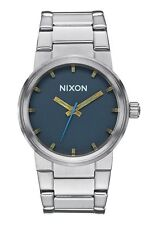 NWT Nixon The Cannon Watch Navy Brass Mens Womens aa239