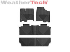WeatherTech All-Weather Car Mats for Toyota Sienna 8-Passenger 2013-2016 - Black