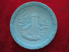 Fenton Collector Plate The Little Brown Church In The Vale Christmas 1970