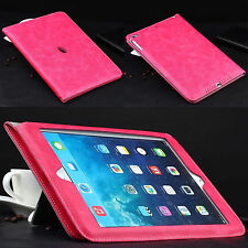 Luxury PU Leather Wallet Smart Stand Case Cover For Apple iPad / Air  /Mini /Pro