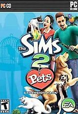 The Sims 2 Pets Expansion Pack PC CD-Rom game in original case w/ manual & Code