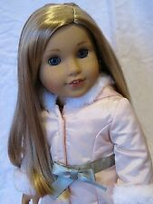 Breathtaking Custom American Girl Doll Grace with Isabelle blonde wig