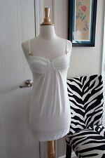 Giorgio Armani White Mini Beach Pool Dress Size XS