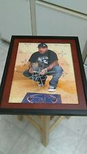 Aaron Lewis Staind Rock Country Musician Signed 11x14 Framed Photo