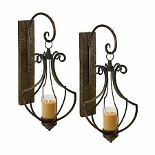 Aspire Home Accents 6908 Ribley Candle Wall Sconce (Set of 2)
