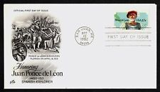 #2024 20c Ponce de Leon, Art Craft FDC **ANY 4=FREE SHIPPING**