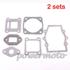 2sets Engine Head Gasket Kit For 47 49cc Mini Moto Dirt Pocket Bike Minimoto ATV