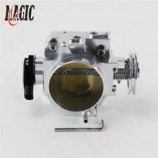 70mm Throttle Body/ TPS For honda K20 /Civic/ EP3/ Type R/Integra DC5 Silver