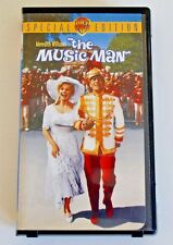 THE MUSIC MAN  VHS Movie Video Warren Brother Special Edition Meredith Willson's