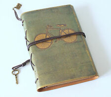 Leather Travel Journal Vintage Style Notebook Scrapbook Keepsakes Photo Album