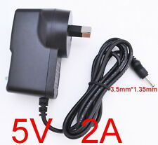 AC 100-240V Converter Adapter DC 5V 2A 10W Power Supply 2000mA AU 3.5mm x 1.35mm