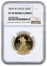 2010-W $25 1/2 oz. Proof American Gold Eagle NGC PF70 UC SKU22416