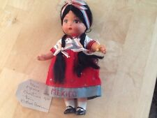little mexican girl christmas doll