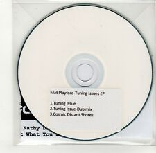 (GO318) Mat Playford, Tuning Issues EP - 2009 DJ CD