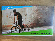 Brand New ~ CANNONDALE 2014 Pieghevole da Donna Urban Kids e accessori Catalogo