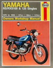 HAYNES WORKSHOP MANUAL FOR YAMAHA RS100, RS125 & RSX100, 1974 to 1995