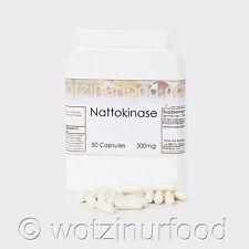 Wotzinurfood Nattokinase 300mg 6,000FU's Heart Health Genuine Japanese