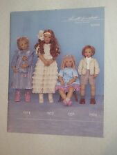 Annette Himstedt Puppen Kinder Katalog 2000