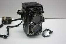 Rolleiflex 3.5 E2 (Xenotar 75mm f/3.5) TLR model w/ Removable Focusing Hood 1959