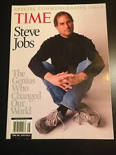 Time Magazine Special Steve Jobs The Genius who changed our world NEW