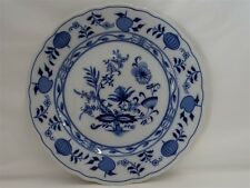 "BAVARIA GERMANY BLUE ONION DINNER PLATE 10-3/8""  EXCELLENT"