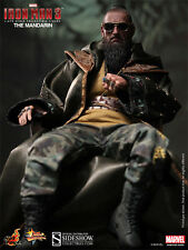 "Hot Toys Iron Man 3 THE MANDARIN 12"" Action Figure 1/6 Scale Sir Ben Kingsley"