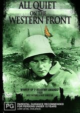 ALL QUIET ON THE WESTERN FRONT Lew Ayres DVD R4 - New