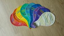"Large/Giant/Huge South American 24"" Inch Assorted Colour Stripy Latex Balloon"