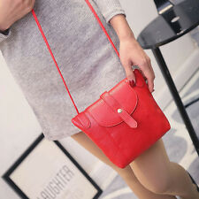 Women Faux Leather Handbag Shoulder Crossbody Bag Tote Messenger Satchel Purse