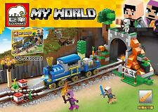 My rescue of the world train crisis 474pcs building toys blocks jx30021