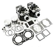 Cylinder Piston Gasket Kit For 1987-2006 Yamaha Banshee 350 Top End Rebuild 64mm