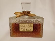 Vintage CHRISTIAN DIOR DIORAMA  4 oz Eau de Toilette, Sealed Large Bottle, Rare