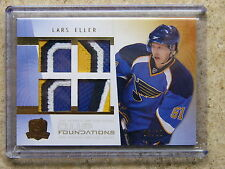 09-10 The Cup Foundations Quad Patch RC Rookie LARS ELLER Serial # 06/10