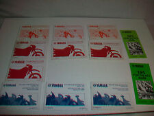 Lot 12 YAMAHA Safety Booklet Tips for ATV Riding Tips Motorcycle Parents Youngst