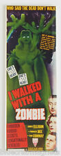 I Walked With a Zombie FRIDGE MAGNET (1.5 x 4.5 inches) insert movie poster