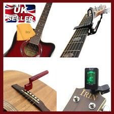 Set of 4 Professional Guitar Accessories Buy One AND Get Free Thumb Pick
