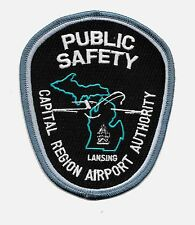 SPECIAL POLICE PATCH AIRPORT PILOT AVIATION FLY MICHIGAN LANSING CENTRAL REGION