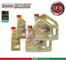 10LT OLIO MOTORE CASTROL EDGE 5W30 FST  TAGLIANDO LONGLIFE (LL) VW 504.00 507.00