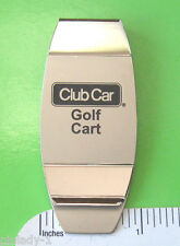 CLUB CAR Golf Cart -  money clip (GIFT BOXED)