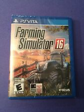 Farming Simulator 16 for PS Vita NEW