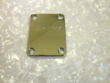 New Ibanez Chrome Logo Neck plate for Ibanez Guitars and Basses US Seller!