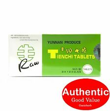 Camellia brand Yunnan Produce Tienchi Tablets (Raw) for Blood Circulation (New!)