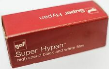NOS GAF Super Hypan Black & White 120 Roll Film Expired 08/1970